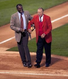2004: Bob Gibson and Stan Musial : Red Sox-Cardinals World Series: Photos from '46, '67, '04