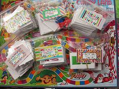 Candy Land games for the kids; addition, subtraction, Fry's 100 words, etc.