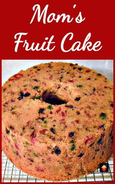 Mom's Fruitcake is a great family recipe passed down the generations and comes with a delicious pineapple glaze recipe too! Mom's Fruitcake is a great family recipe passed down the generations and comes with a delicious pineapple glaze recipe too! Tolle Desserts, Köstliche Desserts, Delicious Desserts, Hot Fudge Cake, Hot Chocolate Fudge, Fudge Recipes, Cake Recipes, Dessert Recipes, Recipe For Fruit Cake