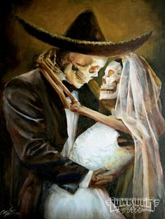 Google Image Result for http://image.lowriderarte.com/f/25509848/0911_lrap_16_z%2Bday_of_the_dead_art%2Bskeletons_getting_married.jpg