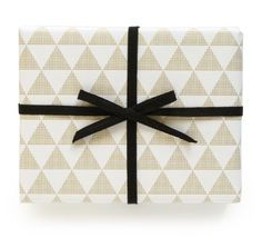 triangle wrapping paper | pei design