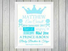 Framed Print – Prince is Born