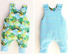 0029A PREEMIE Baby Boy Sailor Pattern Romper Reversible Set