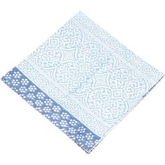 Give the table a little boost with this cotton paisley napkin designed and block printed in India. Block printing is a labour-intensive method of hand-printing fabric. Makers imprint the cloth with hand-carved wooden blocks, stamping the cloth left to right, and repeating to complete all patterns and colours.