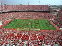 #OhioState #Buckeyes are the favorite college #football team of Kieran and Tyler, just like us :)