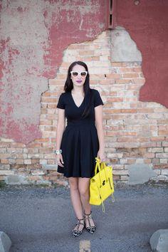 Little Black Dress and a Summer Blazer