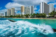 """""""A lovely view of Waikiki paradise!"""", posted on M&M Travel and Tours. Call us to for all your travel needs and questions, 810 877 Aloha Friday, Visit Hawaii, Waikiki Beach, Great Pic, Hawaii Vacation, Travel Photography, Paradise, Coast, Skyline"""