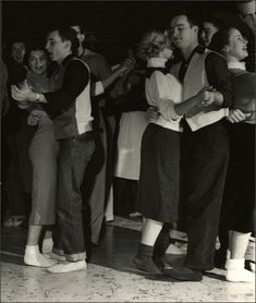 Slow dancing at the Sock Hop, 1953 Nina Leen