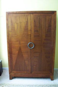 Large Armoire By Broyhill Furniture. Measures: 4u0027 Wide X 2u0027 Deep X