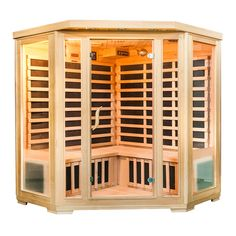 Buy Valo 4 Person Corner Infrared Sauna Online Australia