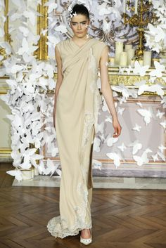 Alexis Mabille Couture Spring 2014 - Nice Dresses, Amazing Dresses, Formal Dresses, Haute Couture Gowns, Alexis Mabille, Spring Couture, Spring 2014, Silk Dress, Sari