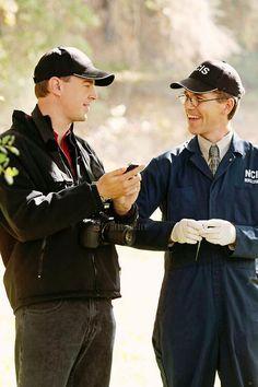 NCIS. McGee and Palmer.