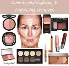 Favorite Highlighting & Contouring Products!