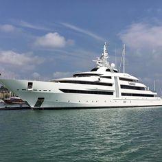 #gentleman #yacht #yachtlife #superyacht #supercar #london #luxury #lifegoals #lamborghini #aventador #abudhabi #dubai #monaco #carshow #cannes #follow4follow #like4like #likeforlike #likeforfollow #millionaire #millionairelifestyle #shmee150  #money #miami #billionaire #megayacht #mercedesbenz #ferrari #privatejet #helicopter by billionaire_toys_