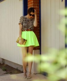 Neon and Leopard!! Amazing!!