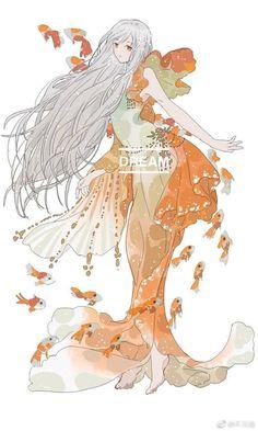 Kimetsu No Yaiba ( fanfic ) - Ngoại lệ - Page 2 - Wattpad Mermaid Drawings, Mermaid Art, Anime Art Girl, Manga Art, Pretty Art, Cute Art, Character Inspiration, Character Art, Anime Kawaii