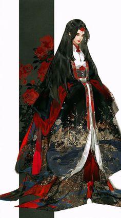 #wattpad #fanfic Naruto es expulsado de los clanes Uzumaki y Namikaze, y sentenciado a morir de hambre por sus padres en una cueva en la frontera de las naciones, pero la diosa Tsukuyomi sintiendo lastima por el lo saca de su prisión para borrar todo rastro de su pasado y darle una nueva oportunidad de ser feliz, p... Anime Art Girl, Manga Art, Character Illustration, Illustration Art, Japonese Girl, Akali League Of Legends, Character Design Inspiration, Asian Style, Chinese Art