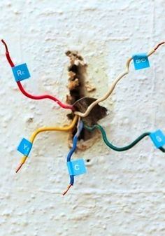 How to Install a Programmable Thermostat - Wiring. Contact E & Q Heating & Cooling to Learn More about the Benefits of a Programmable Thermostat. Visit http://www.eandqcomfort.com/.