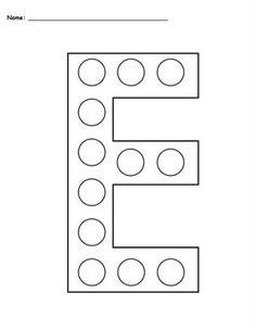 uppercase letter e template printable alphabet worksheets worksheets letter e letter e. Black Bedroom Furniture Sets. Home Design Ideas