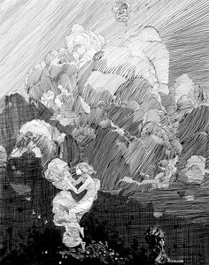 franklin booth clouds - Google Search