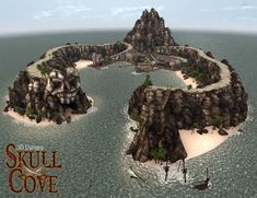 Daily Content Throwback: Skull Cove Complete #DAZ #DAZ3D #Poser #Throwback #3D #CGI #3DUniverse