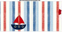 Oi Pessoal!!!!! Mais um kit para menino! Kit de Marinheiro Azul e vermelho, para decorar a festa do seu Garotão! O kit é completo com c... Dina, Candy, Bar, Sailor Party, Rouge, Toddler Girls, Blue, Sweet, Toffee