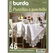 Альбом«Burda special E502 1998 Puntillas a ganchillo»/вязание крючком/. Обсуждение на LiveInternet - Российский Сервис Онлайн-Дневников