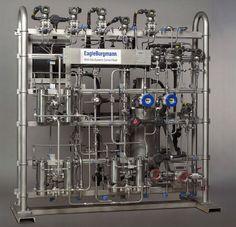 Cистема контроля и  управления узлами сухих газовых уплотнений