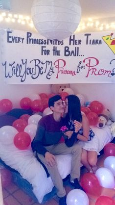 Prom-posal with Pandora My Princess Ring