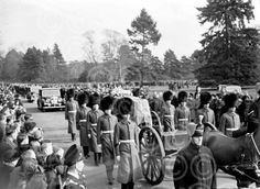 King George Vi Funeral | Archant Norfolk: View Picture: p4395 king george VI funeral 1952.jpg