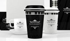 Visual identity for Gourmet, by Guilherme Karklin. #branding