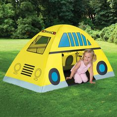 School Bus Tent now featured on Fab. [Children's, kid's, Etna Products]