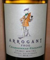Geproefd: Arrogant Frog Chardonnay Viognier 2012, IGP Pays D'Oc, Frankrijk - 3 Wijngekken die dol zijn op wijn !
