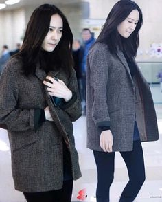 160301 f(x) Krystal   Gimpo Airport arrival from Beijing