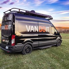 VanDoIt Camper Van.
