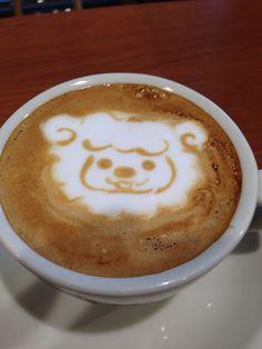 ラテアート ヒツジ Latte art Sheep