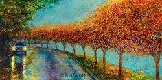 Veja os belos trabalhos de Iris Scott, uma artista que pinta com os dedos!