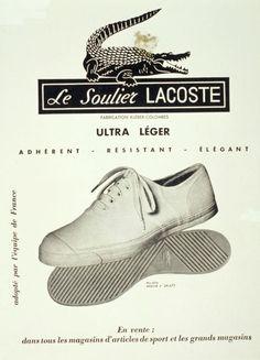 Le Soulier Lacoste.