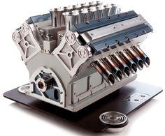 The V12 Engine Espresso Machine