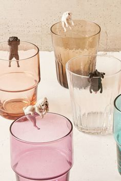 Pugs to cutely perch on the edge of the glass you're drinking from. | 27 Products Under $15 That Are Basically Already In Your Shopping Cart