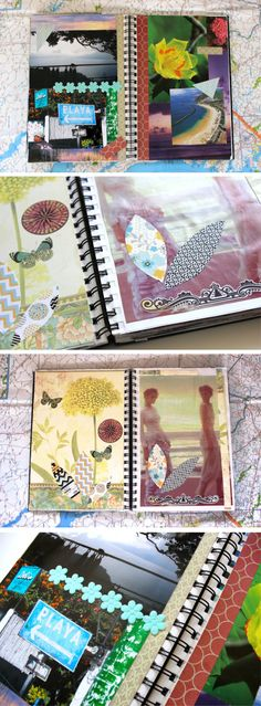Travel Diary Inspiration: Visual Journal
