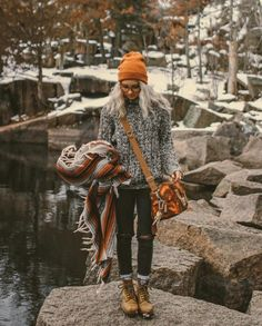 outdoor, winter travel outfit