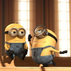 Despicable Me minions... You know you love them!