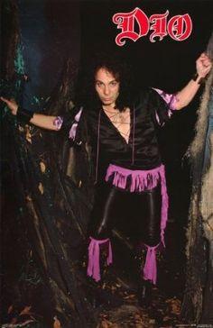 Ronnie James Dio Poster Rainbow