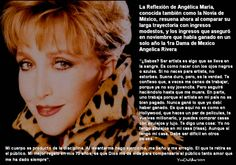 Angelica Maria Reflexión sobre Comentario de Angelica Maria #Quotes #frases #NoviaDeMexico