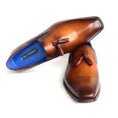 Paul Parkman Men's Tassel Loafer Walnut Leather Sole Leather Upper (ID#5141-WALNUT) #menswear #mensfashion #menstyle #mensstyle #menfashion #ootdmen #tfdr #worstbehavior #menwithstyle #menwithbeards #gentlemansclub #guyswithstyle #Dapper #handmade #handmadeshoes #handmadeproducts #millionaire #shoes #menshoe #menshoes