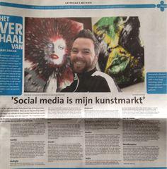 Nice piece about me in dutch newspaper (Gooi en Eemlander) today…
