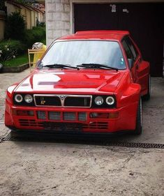 22 Modified Cars Will Inspire You To Make Your Car More Attractive Lancia Delta, Vintage Sports Cars, Vintage Cars, Van 4x4, Sweet Cars, Top Cars, Modified Cars, Rally Car, Transportation Design