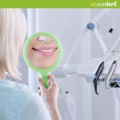Tu encárgate de visualizar la sonrisa que anhelas  nosotros la hacemos realidad #caredent #clinicadental #dentistry #odontologia
