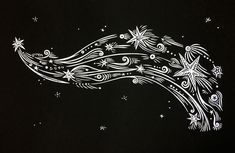 Shine Swift and Bright linocut by Jill Bergman